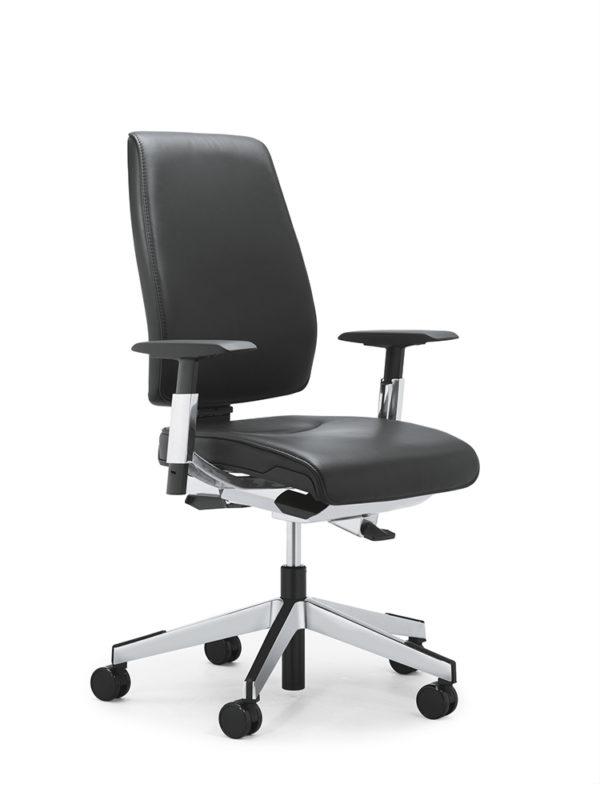 Bureaustoel Giroflex 68-7509 leder