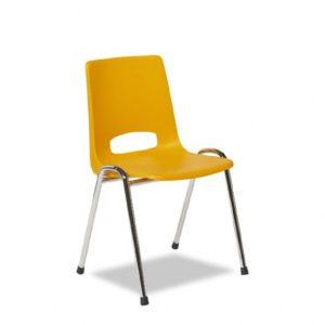 Kantinestoel Model Arena 3320-Pure meubelfabriek de Valk J van Asperen
