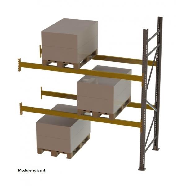 Palletstelling Propal3 aanbouwrek